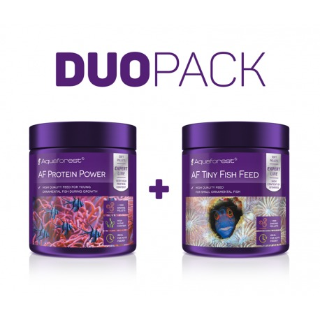 Duo Pack Protein Power + Tiny Fish Feed