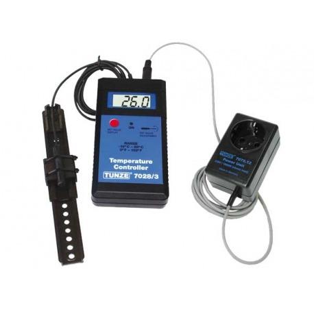 Set controlador de temperatura en °C
