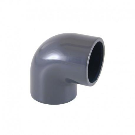 Codo PVC 90º Blanco