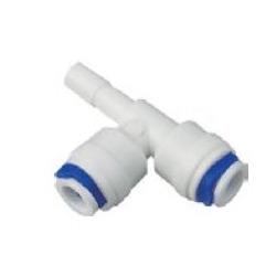 "TE mixta tubo 1/4"" x tubo 1/4"" x stem 1/4"""