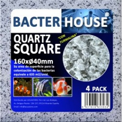 Bacterhouse Quartz Square 160x40mm